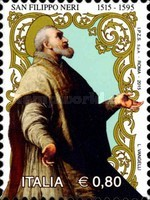 [The 550th Anniversary of the Birth of Philip Neri, 1515-1595, Typ DXJ]