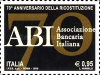 [The 70th Anniversary of the Italian Banking Association, Typ DXV]