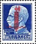 [Stamps of 1929 Overprinted, Typ DY5]