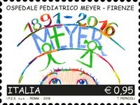 [The 125th Anniversary of the Meyer Children's Hospital - Florence, Italy, Typ DZO]