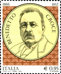 [The 150th Anniversary of the Birth of Benedetto Croce, 1866-1952, Typ DZP]