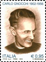 [The 60th Anniversary of the Death of Carlo Gnocchi, 1902-1956, Typ DZQ]