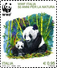 [Pandas - The 50th Anniversary of the WWF, Typ EAL]