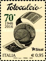 [The 70th Anniversary of Totocalcio - Italian Football Betting System, Typ EAM]