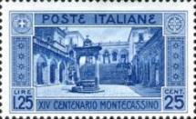 [The 1400th Anniversary of the Founding of the Abbey of Monte Cassino, Typ EB1]