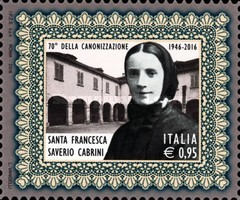 [The 70th Anniversary of the Canonization of Frances Xavier Cabrini, 1850-1917, Typ EBH]