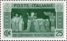 [The 1400th Anniversary of the Founding of the Abbey of Monte Cassino, Typ EC]