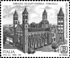 [The 800th Anniversary of the Basilica di Sant'Andrea Church, Typ EHO]
