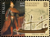 [The 400th Anniversary of the Birth of Francesco Morosini, 1619-1694, Typ EHP]