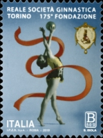 [The 175th Anniversary of the Royal Society Gymnastics - Turin, Itlay, Typ EHS]