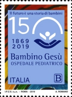 [The 150th Anniversary of the Bambino Gesù Hospital - Joint Issue with Vatican City, type EHT]