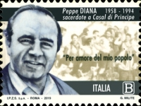 [The 25th Anniversary of the Death of Giuseppe Diana, 1958-1994, Typ EHU]