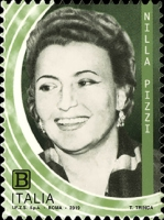 [The 100th Anniversary of the Birth of Nilla Pizzi, 1919-2011, Typ EIB]