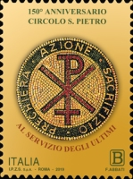 [The 150th Anniversary of the Vatican City State, Typ EIC]