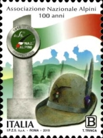 [The 100th Anniversary of The National Alpini Association, Typ EIP]