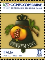 [The 100th Anniversary of the Confederation of Italian Cooperatives, Typ EIS]