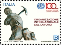 [The 100th Anniversary of the ILO - International Labour Organization, type EIW]