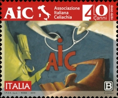 [The 40th Anniversary of the AIC - Italian Celiac Association, type EJC]