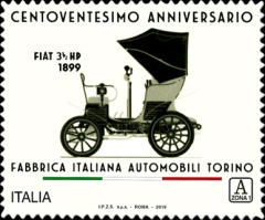 [The 120th Anniversary of Fiat Automobiles, Typ EJG]