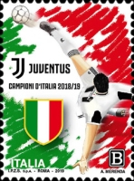 [Football - Juventus, Italian Champion 2018-2019, Typ EJH]