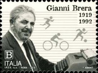 [The 100th Anniversary of the Birth of Gianni Brera, 1919-1992, type EJL]