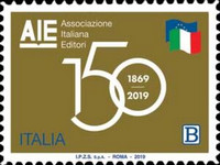[The 150th Anniversary of the Italian Publishers Association, type EJM]