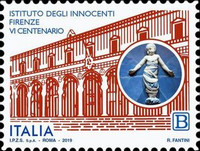 [The 600th Anniversary of the Institute of the Innocents of Florence, type EKC]