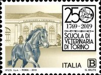 [The 250th Anniversary of the Faculty of Veterinary Medicine of Turin, type EKM]