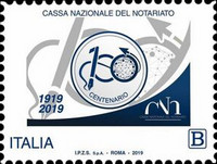 [The 100th Anniversary of the National Notary Fund, type EKP]