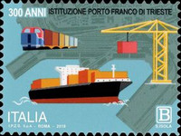 [The 300th Anniversary of the Free Port of Trieste, type ELC]