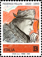 [The 100th Anniversary of the Birth of Federico Fellini, 1920-1993, type ELE]