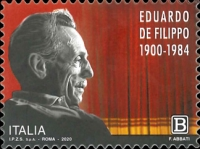 [The 120th Anniversary of the Birth of Eduardo De Filippo, 1900-1984, type ELM]