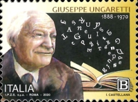 [The 50th Anniversary of the Death of Giuseppe Ungaretti, 1888-1970, type ELP]