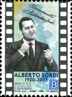 [The 100th Anniversary of the Birth of Alberto Sordi, 1920-2003, type ELR]