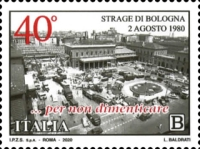 [The 40th Anniversary of the Bologna Massacre, type EME]