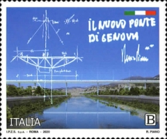 [New Genoa Bridge - Geova San Giorgio, type EMF]