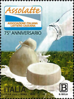 [The 75th Anniversary of the Italian Association of Dairy Producers, type EMP]