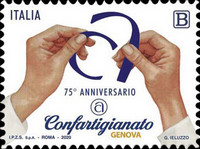 [The 75th Anniversary of the Founding of the Confartiginato of Genoa, type ENB]