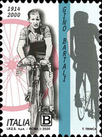 [The 20th Anniversary of the Death of Gino Bartali, 1914-2000, type ENE]