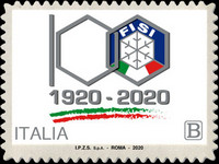 [The 100th Anniversary of the Italian Winter Sports Federation, type ENF]