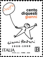 [The 100th Anniversary of the Birth of Gianni Rodari, 1920-1980, type ENN]