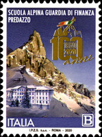 [The 100th Anniversary of the Alpine School of the Guardia Finanza of Predazzo, type ENT]