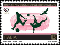 [The 120th Anniversary of the Palermo Football Club, type ENV]