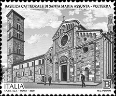 [The 900th Anniversary of the Volterra Cathedral, type ENZ]
