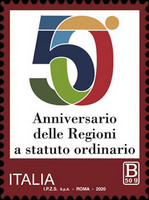 [The 50th Anniversary of the Regions with Ordinary Statute, type EOC]