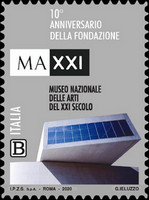 [The 10th Anniversary of the MAXXI National Museum of 21st Century Arts - The Excellence of Knowledge, type EOK]