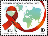 [The Civic Sense - World Day for the Fight Against AIDS, type EON]