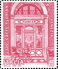[The 300th Anniversary of the Florian Cafe, type EOQ]