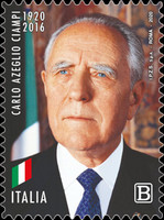 [The 100th Anniversary of the Birth of Carlo Azeglio Ciampi, 1920-2016, type EOT]