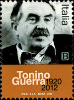 [The 100th Anniversary of the Birth of Tonino Guerra, 1920-2012, type EOU]